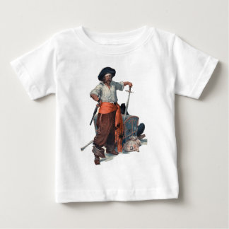 Pirate And Treasure Baby T-Shirt