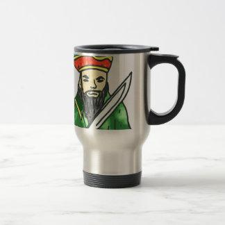 Pirate arrg - green 15 oz stainless steel travel mug