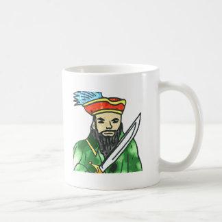 Pirate arrg - green classic white coffee mug