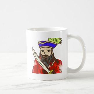 Pirate Arrg - red Classic White Coffee Mug