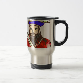 Pirate Arrg - red 15 Oz Stainless Steel Travel Mug