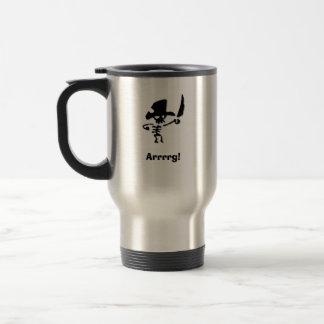 Pirate Arrrrg Travel Mug