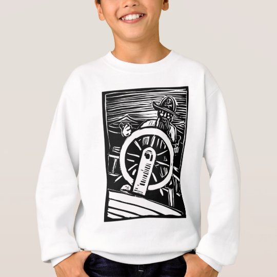 Pirate at the Helm Sweatshirt