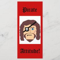 Pirate, Attitude!