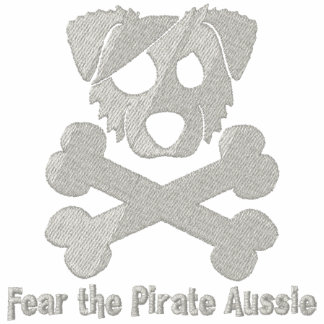 Pirate Aussie Embroidered Hoodie