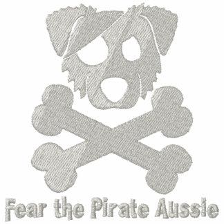 Pirate Aussie Embroidered Hoodie