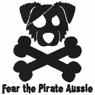 Pirate Aussie Embroidered Polo Shirt