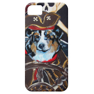 PIRATE AUSTRALIAN SHEPHERD iPhone SE/5/5s CASE