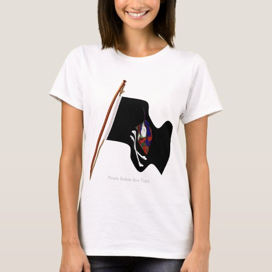 Pirate Babes Are Topmast. T-Shirt