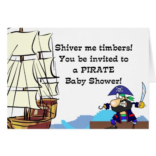 pirate baby shower invitation zazzle