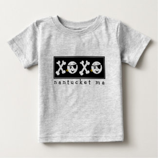 Pirate Baby XOXO Nantucket MA T-shirt