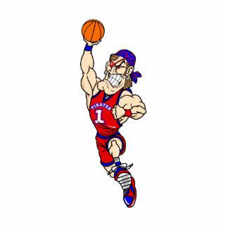 Pirate basketball photo cutouts