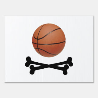 Pirate Basketball Signs