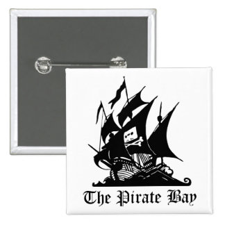 Pirate Bay, Illegal Torrent Internet Piracy Button