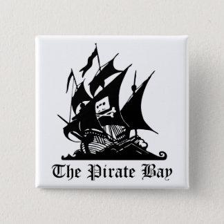 Pirate Bay, Illegal Torrent Internet Piracy Pinback Button