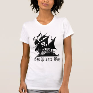 Pirate Bay, Illegal Torrent Internet Piracy Tee Shirts