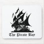 Pirate Bay, Internet Piracy Mouse Pad