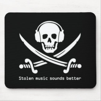 Pirate Bay - Stolen Music sounds better mouse pad