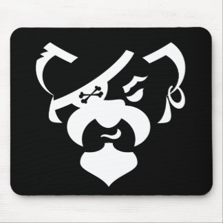 Pirate Bear basics Mouse Pad
