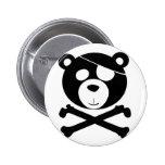 pirate bear buttons