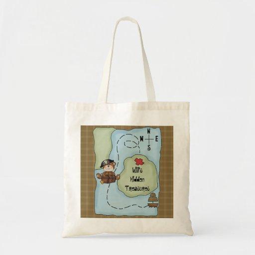 Pirate Bear Theme Hidden Treasures Kids Toy Bag