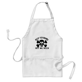 PIRATE BEER ADULT APRON