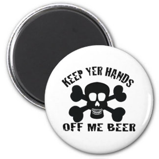 PIRATE BEER MAGNET