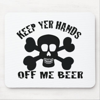 PIRATE BEER MOUSE PAD