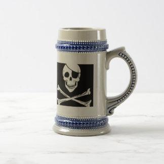 pirate beer stein