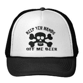 PIRATE BEER TRUCKER HAT