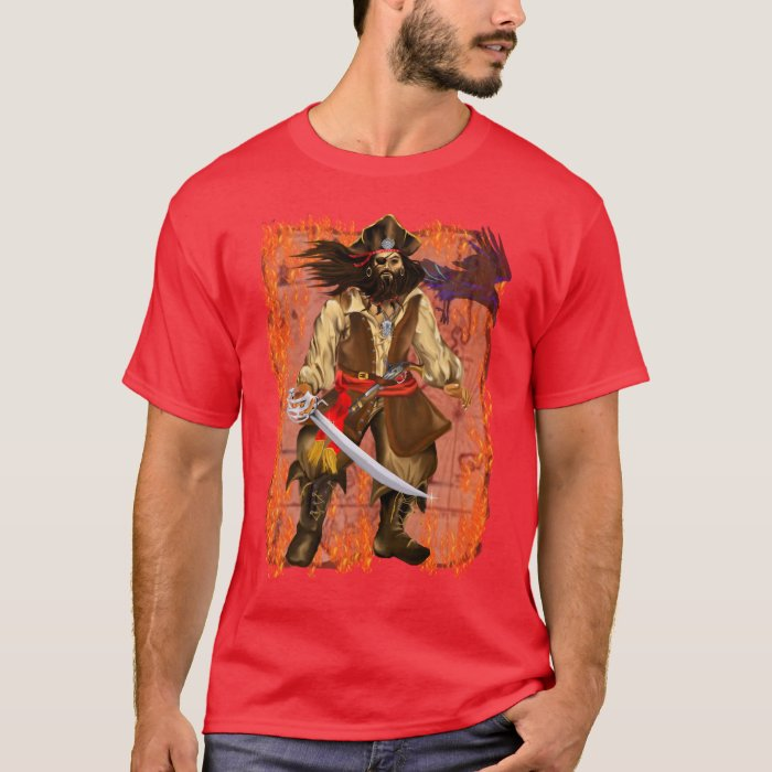 *Pirate-Big and Bad with map T-Shirt