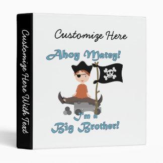 Pirate Big Brother Binder