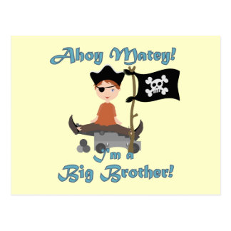Pirate Big Brother Postcard