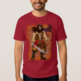 Pirate-Big n Bad with background T-shirt