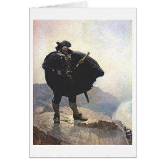 Pirate Billy Bones Card