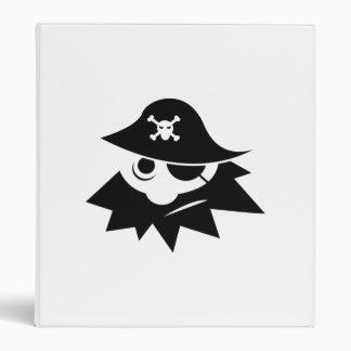 Pirate 3 Ring Binders