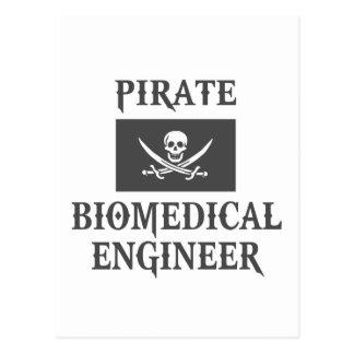 Pirate Biomedical Engineer Postcard