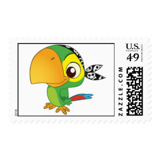 Pirate Bird Postage