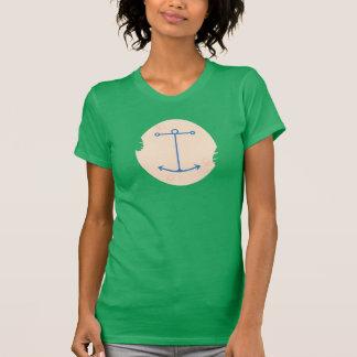 Pirate Bird Tattoo for Ladies T-Shirt