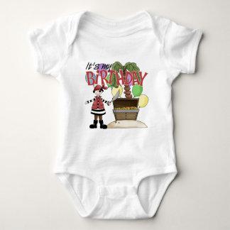 Pirate Birthday Baby Bodysuit