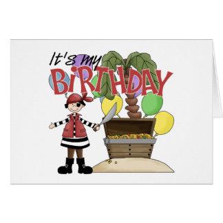Pirate Birthday Greeting Card