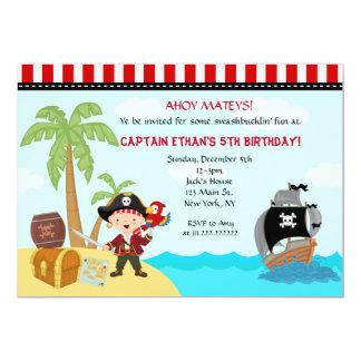 pirate birthday invitations & announcements | zazzle, Birthday invitations