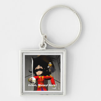 Pirate Birthday Keychain