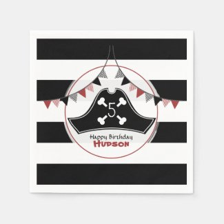 Pirate Birthday Napkins