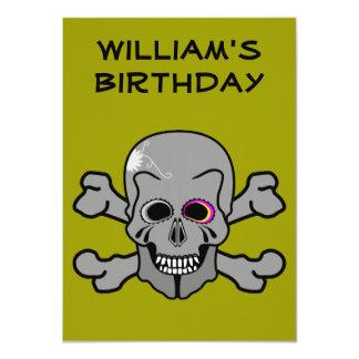 "Pirate Birthday Party invitation 4.5"" X 6.25"" Invitation Card"