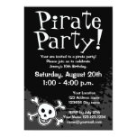 """Pirate Birthday party invitations for kids 5"""" X 7"""" Invitation Card"""