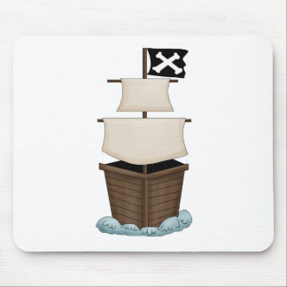 Pirate Birthday Party Mouse Pad