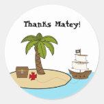 Pirate Birthday Party Sticker