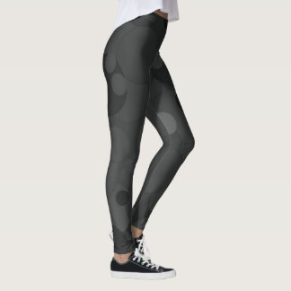 Pirate Black Bubbles Leggings