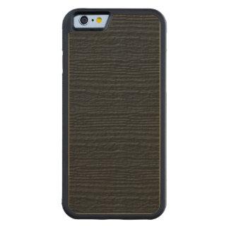 Pirate Black Wood Grain Carved® Maple iPhone 6 Bumper Case